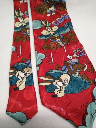 Vintage silk Sylvester and Tweety tie Warner Bros 1994 by Iside /& Intermodal Made in Italy