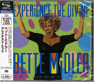 BETTE-MIDLER-EXPERIENCE-THE-DIVINE-BETTE-MIDLER-GREATEST-HITS-JAPAN-SHM-CD-C41
