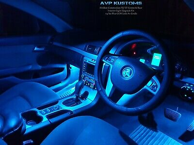 Holden VF Commodore Evoke SS SSV SV6 Icy Blue LED Interior Light Conversion Kit