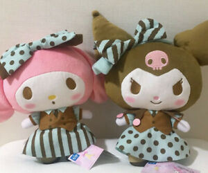 Mint Plush Set of 2 Sanrio My Melody Kuromi Limited Prise Item