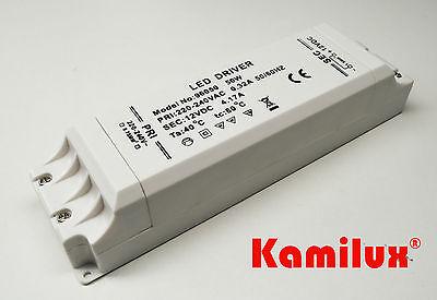 Elektronischer LED Trafo 50 Watt Stabilisiert für LED Lampen Kurzschlussfest
