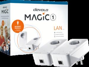 Magic-1-LAN-Starter-Kit-Powerline-Stromnetzadapter