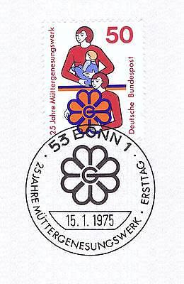Diskret Brd 1975: Müttergenesungswerk! Nr 831 Mit Sauberem Bonner Sonderstempel! 1a! 153 Diversifiziert In Der Verpackung