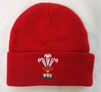 Wales Rugby Red Core Cuff Beanie Official Merchandise Brand With Tags