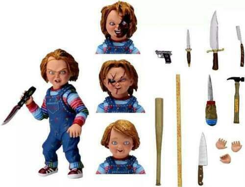 """NECA Chucky Good Guy Doll Child/'s Play Ultimate 4/"""" Action Figure 1:12 Scale"""