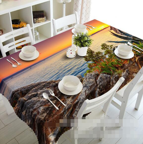 3D Sun reef 45 Tablecloth Table Cover Cloth Birthday Party Event AJ WALLPAPER AU