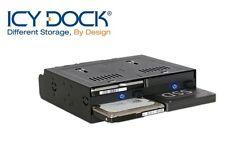 "New ICY Dock flexiDOCK MB524SP-B 4 bay 2.5"" SAS SATA HDD Hot Swap Mobile Rack"