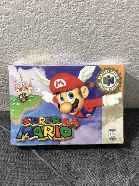 Super Mario 64 Nintendo 64 Game SEALED Brand New!