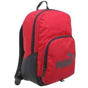 PUMA-phase-gym-school-travel-laptop-sports-bag-backpack-Navy-Grey