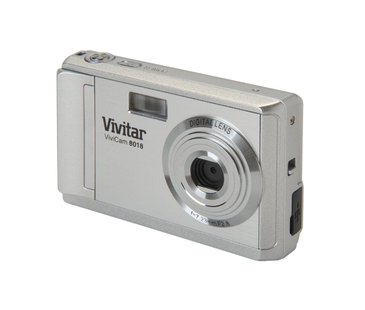 vivitar vivicam 8018 8 1mp digital camera silver ebay rh ebay com Vivitar ViviCam Xx14 User Manual Vivitar ViviCam F126 Manual