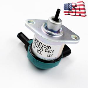 Details about New Fuel shut off solenoid for Kubota B2710 B2910 B3030 B7510  32721-60014 US