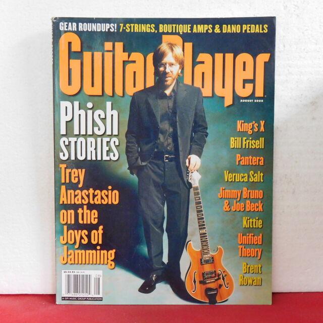Trey Anastasio Guitar Player Magazine Phish Bill Frisell Veruca Salt August 2000