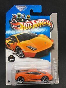 Hot Wheels 2013 Lamborghini Gallardo Lp 570 4 Superleggera Orange