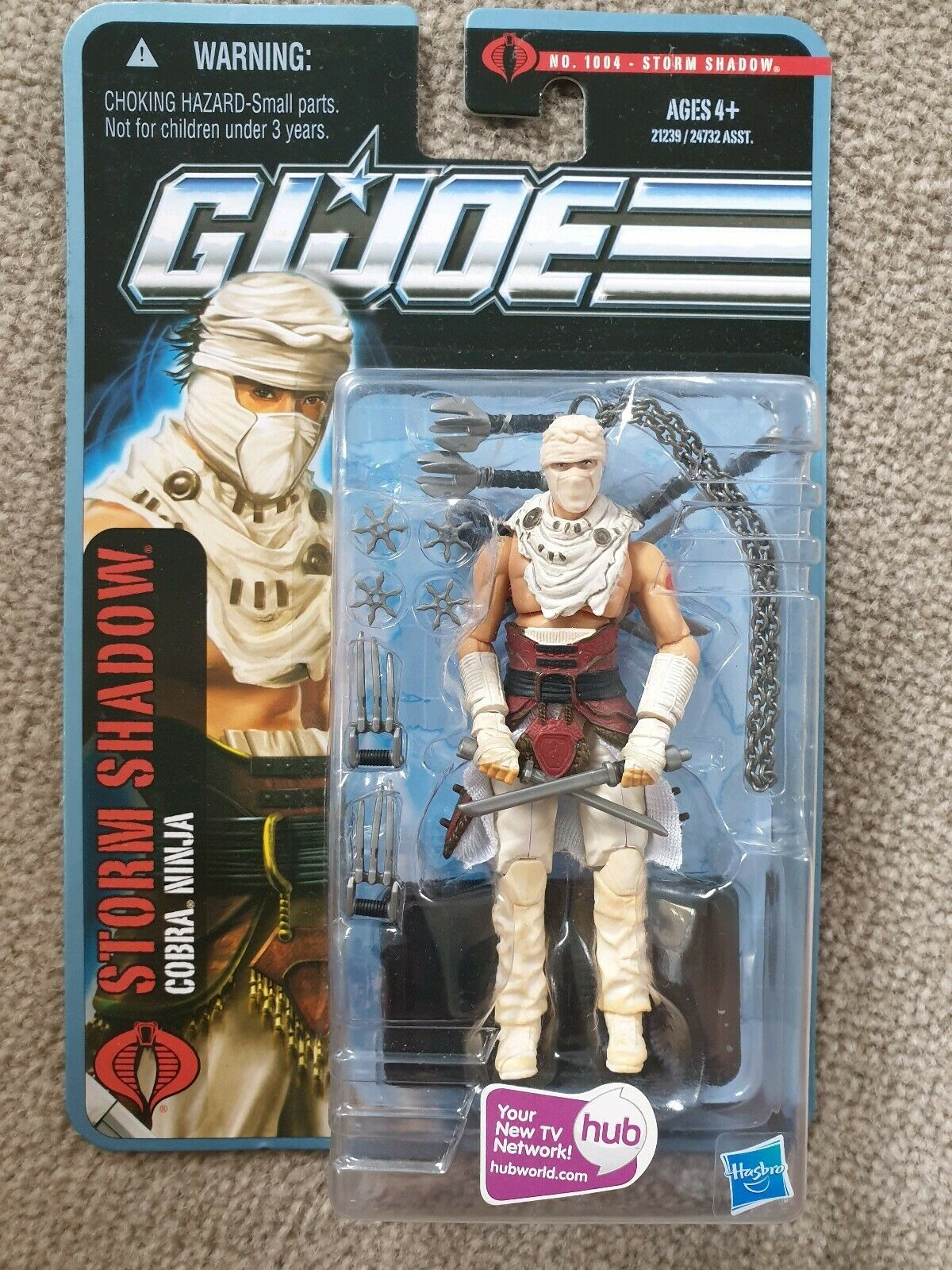 GI Joe pursuit of cobra POC storm shadow ninja commando