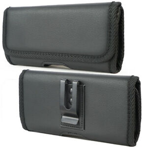 Black-Vegan-Leather-Case-Pouch-Metal-Belt-Clip-for-Samsung-Galaxy-Z-Fold-2-5G