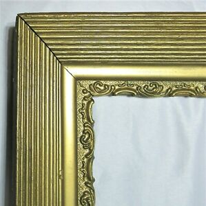 BIG-FITS-16-034-X-20-034-GOLD-GILT-ORNATE-WOOD-PICTURE-FRAME-FINE-ART-VICTORIAN
