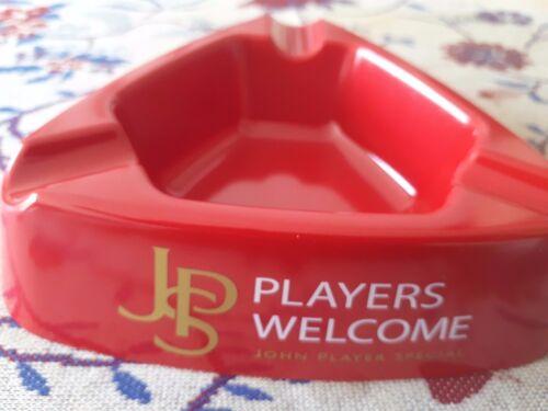 """ASCHENBECHER JPS  /"""" JOHN PLAYER SPECIAL WELCOME/""""KUNSTSTOFF NEU"""