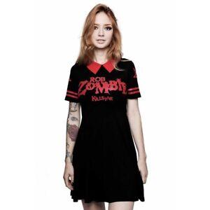 X Killstar Kleid Gothic Skater Okkult Punk City Minikleid Rob Dead Zombie drqpdB