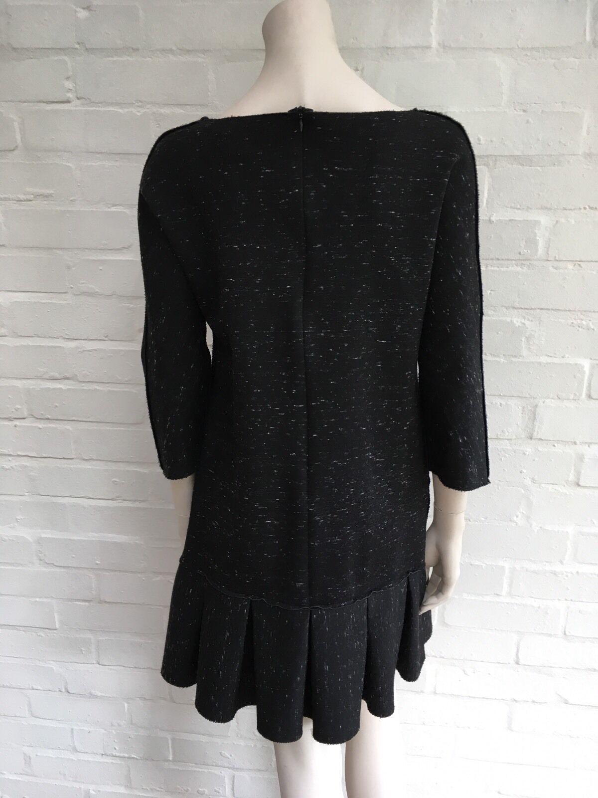 NEW York Grigio Antracite SEA svasata Shift Dress Dress Dress Dimensione US 4 S Small a6749a
