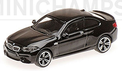 BMW M2 F87 Coupe 2016 schwarz black 1:87 Minichamps