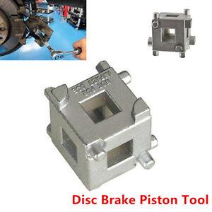 "Disc Rear Brake Piston Caliper Wind Back Cube 3//8/"" Drive Tool Calliper Adaptor"