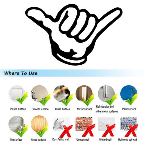 Contact Hand Gesture Sticker Car Window Bumper Laptop Door Wall Vinyl Decal