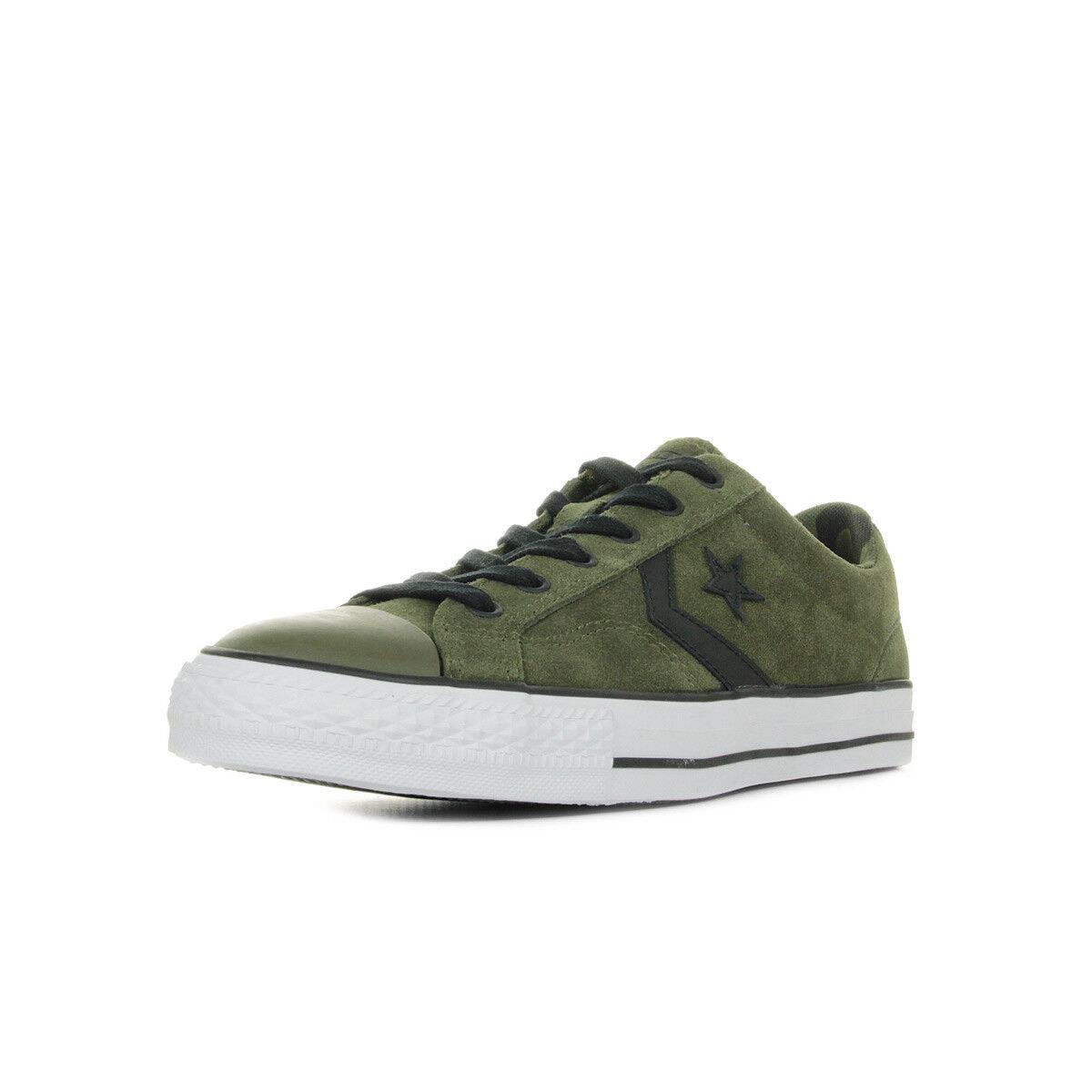 Schuhe Converse Herren Star Player OX grün