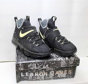 034b0579d18 Nike Lebron XIV EP Black Men s Basketball Shoes 921084-030 Size 8