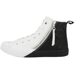 Palladium-pallaphoenix-Z-2-Tone-Chaussures-High-Top-Sneaker-White-Black-75953-904