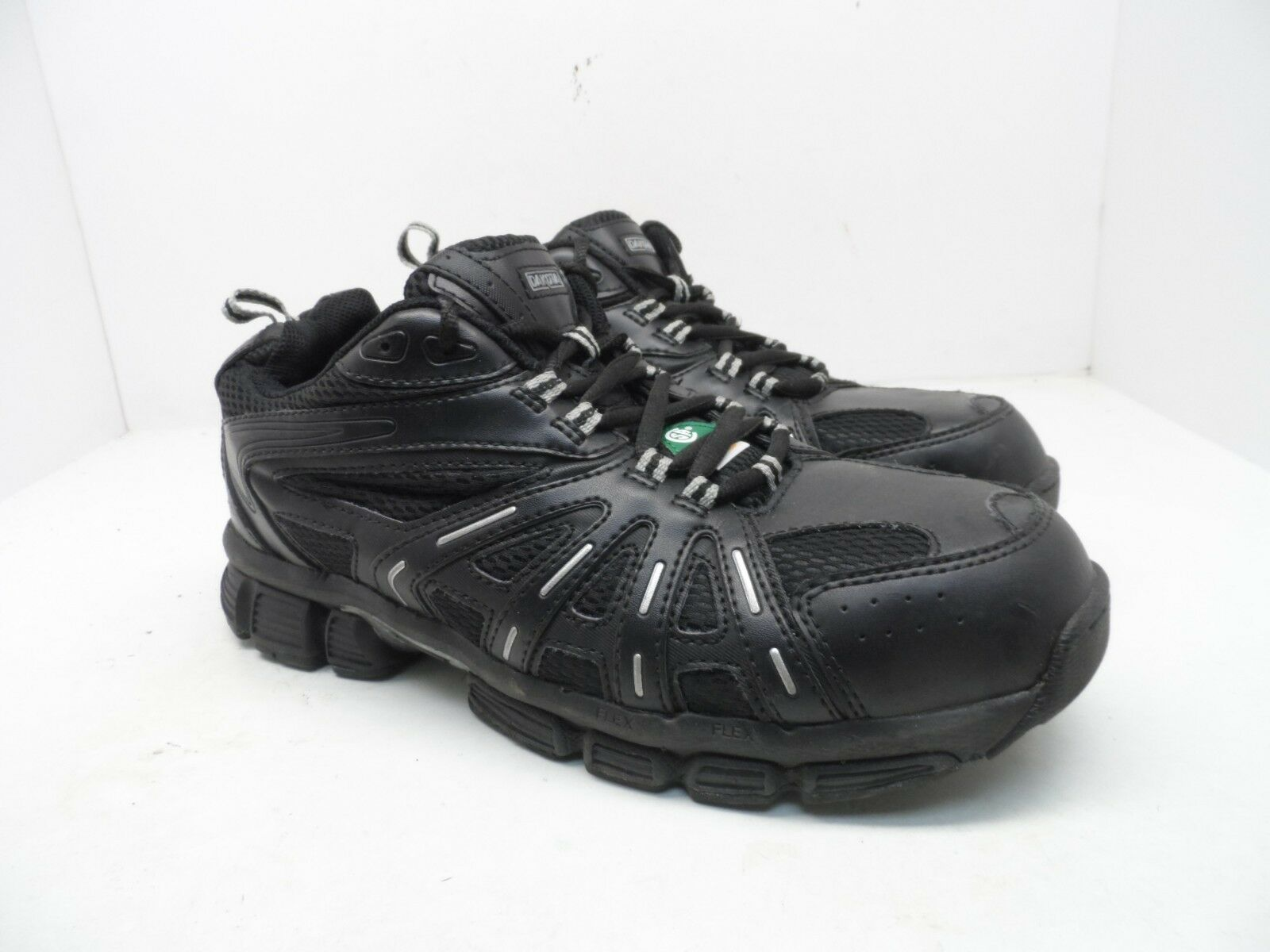 DAKOTA Men's Low-Cut Aluminium Toe Composite Plate Work shoes Black Size 10EE