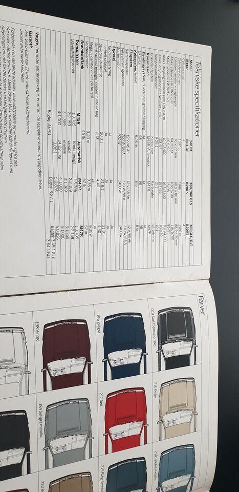 Brochure, Volvo 340 / Volvo 360