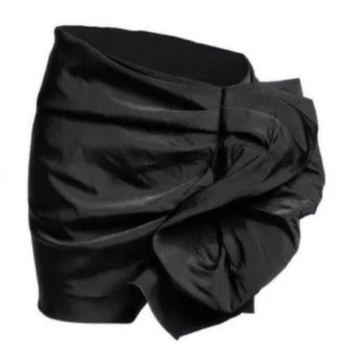Nuevo  Con Etiqueta  LANVIN pour X H&M Negro Falda de volantes. Talla L US 10 12 EUR 40 42  tienda en linea