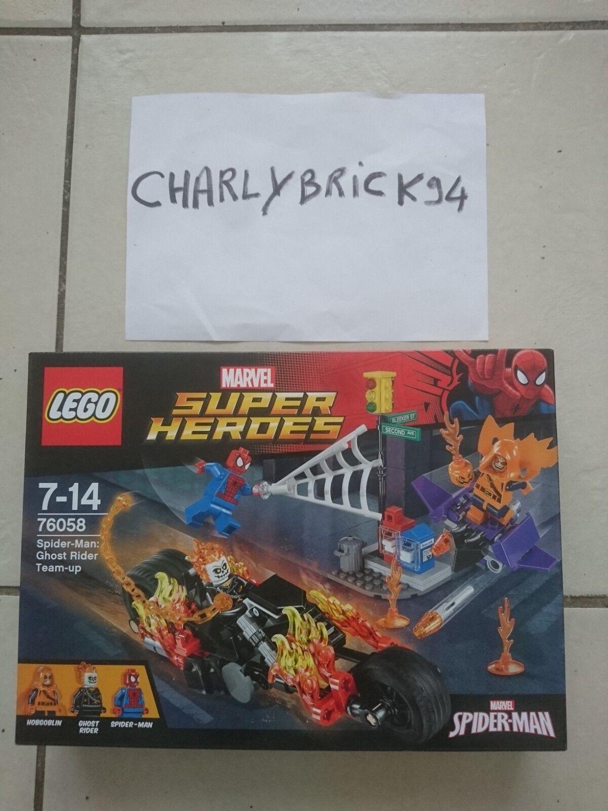 LEGO Marvel 76058 Spider Man : l'équipe de Ghost Rider neuf scellé | New Sealed