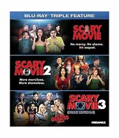 Scary Movie Triple Feature [blu-ray] Free Shipping