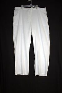 f99d74df150 Image is loading JESSICA-LONDON-Linen-Rayon-Drawstring-Pants-Size-20-
