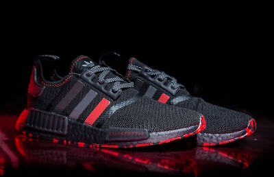 best sneakers c6e68 e696f Adidas NMD R1 Black Red Marble Japan 3m Size 5. G26514 Yeezy Ultra Boost |  eBay