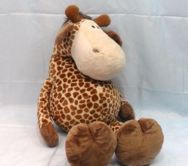 NIC - Giraffa in soffice peluche - cm.70 - seduto cm.50