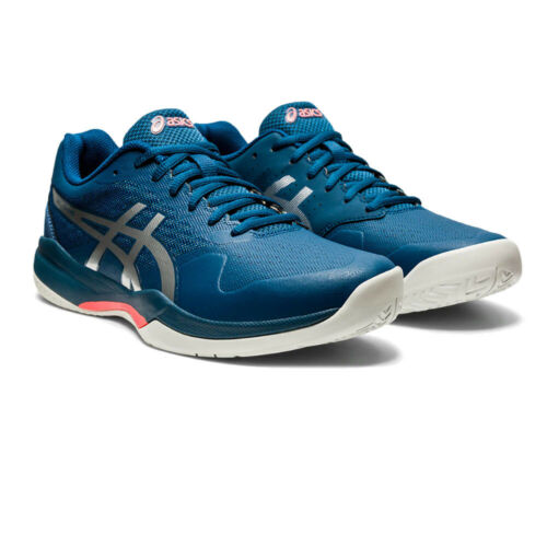 Asics Mens Gel-Game 7 Tennis Shoes Blue Sports Breathable Lightweight