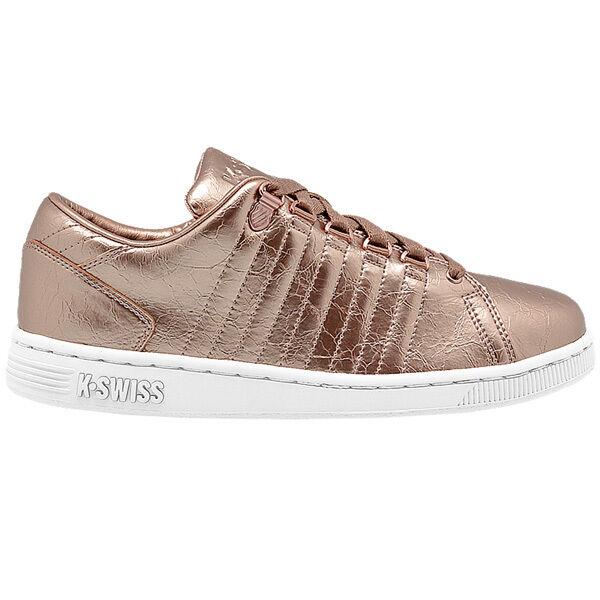 K-Swiss K-Swiss K-Swiss Lozan III aged FOIL donna scarpe da ginnastica scarpe oro bianca 95053-282 Belmont | economia  | Uomini/Donne Scarpa  1bf004
