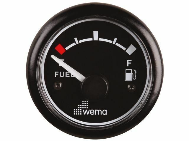 Wema Tankanzeige Tankanzeige Wema Treibstoff 52 mm 12/24V fc569d