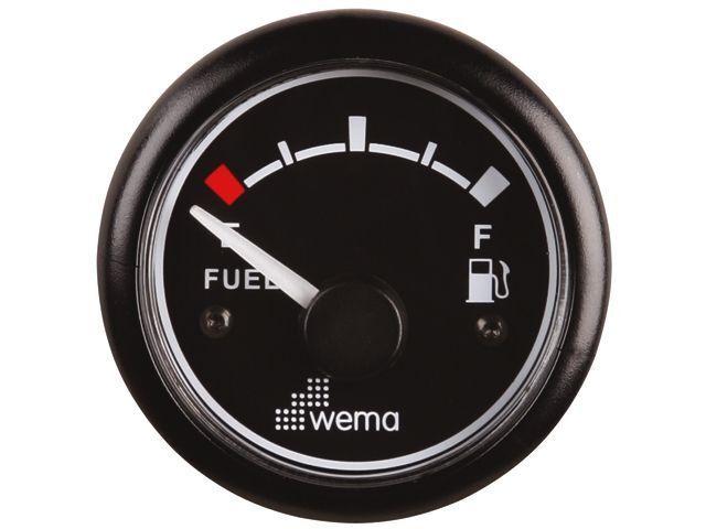 Wema Indicatore Livello autoburante autoburante 52 mm 1224V