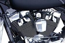 Ciro Chrome Spark Plug Head Bolt Covers For Harley - 70200