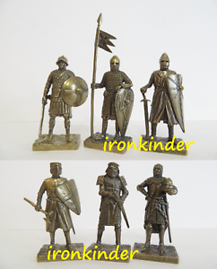 Knights, Part 1 bronze metal Toy collection soldier 40mm