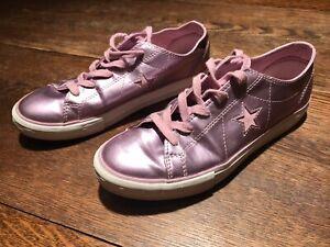 Metallic Rose Pink Shoes