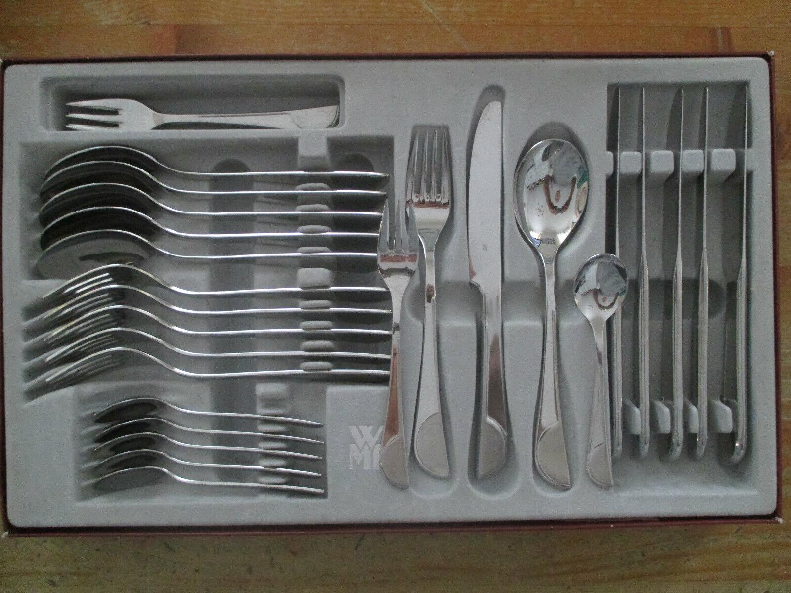 WMF Solo Cromargan 6 Personnes 30 pièces note 2 couteau cuillère fourchette cuillères