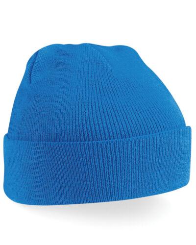 Nouveau Personnalisé Personnalisé Brodé Bonnet promo texte logo travail Tricot Chapeau
