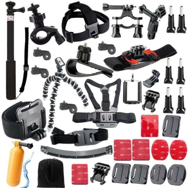For Ion Air Accessories Kit for Sony Action Cam AS200V FDR-X1000V W 4K HDR-AS30V