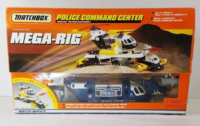 Matchbox Mega Rig Rescue Crew Building System Toy Mattel R6343