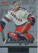 2005-06 FLEER ULTRA ICE MEDALLION - HENRIK LUNDQVIST ROOKIE CARD 10/25