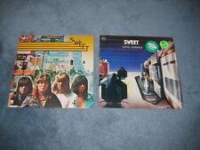 Sweet Desolation Boulevard Level Headed Lot of 2 LP Album Records Near Mint